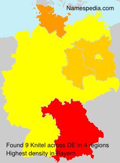 Surname Knitel in Germany