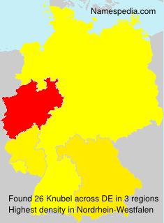 Surname Knubel in Germany