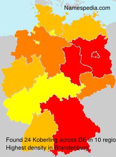 Surname Koberling in Germany