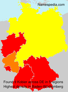 Surname Kobier in Germany