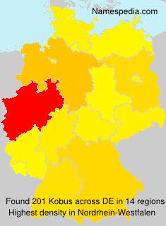 Surname Kobus in Germany