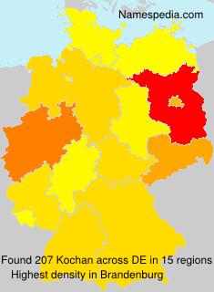 Surname Kochan in Germany