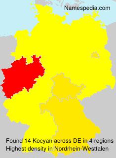 Surname Kocyan in Germany