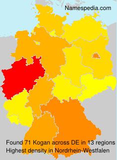 Surname Kogan in Germany