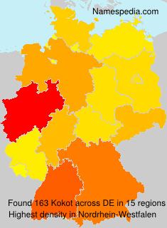 Surname Kokot in Germany