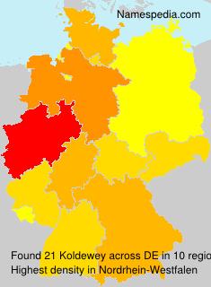 Familiennamen Koldewey - Germany