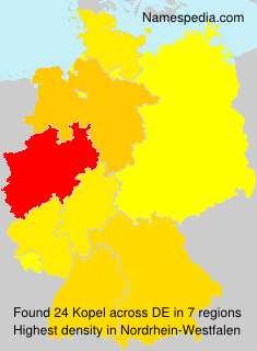 Surname Kopel in Germany