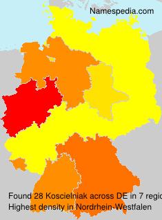 Surname Koscielniak in Germany