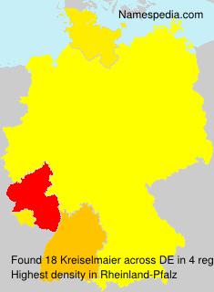 Surname Kreiselmaier in Germany