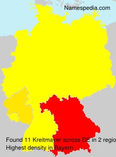Familiennamen Kreitmayer - Germany