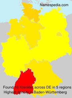 Surname Krenkler in Germany