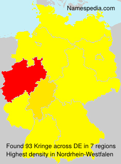Surname Kringe in Germany