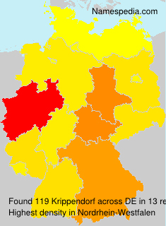 Surname Krippendorf in Germany