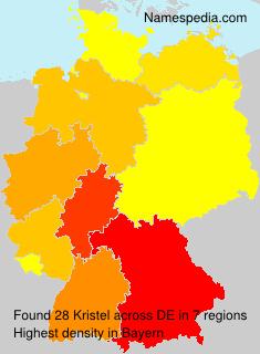 Surname Kristel in Germany