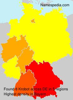 Familiennamen Krobot - Germany