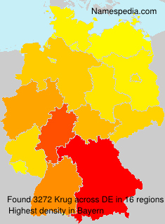 Surname Krug in Germany