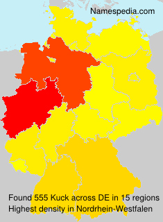 Surname Kuck in Germany