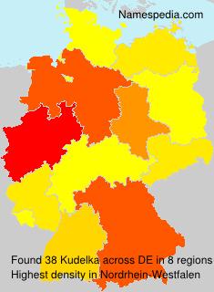 Familiennamen Kudelka - Germany