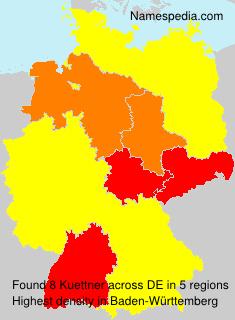 Surname Kuettner in Germany