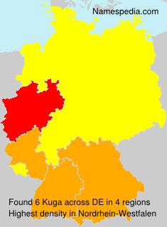 Surname Kuga in Germany