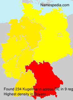 Familiennamen Kugelmann - Germany