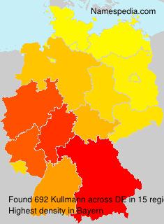 Surname Kullmann in Germany