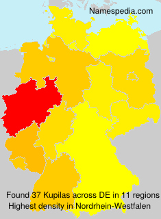Surname Kupilas in Germany