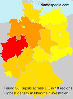 Surname Kupski in Germany