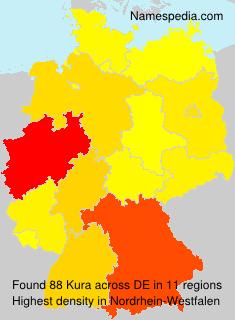 Surname Kura in Germany