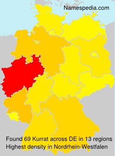 Surname Kurrat in Germany