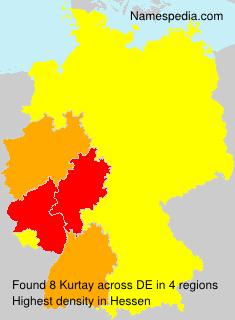 Surname Kurtay in Germany