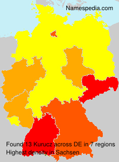 Surname Kurucz in Germany