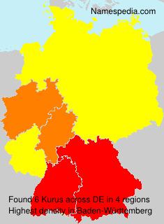 Familiennamen Kurus - Germany