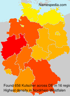 Surname Kutscher in Germany
