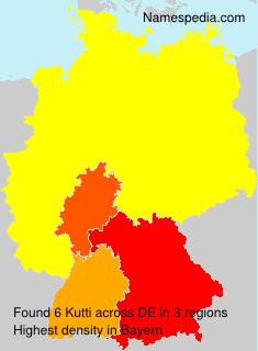 Familiennamen Kutti - Germany