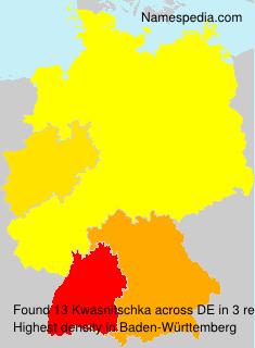 Kwasnitschka - Germany
