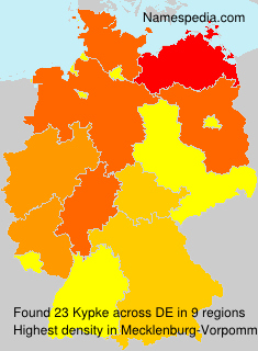 Surname Kypke in Germany