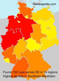 Surname Laas in Germany
