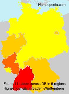 Familiennamen Ladan - Germany