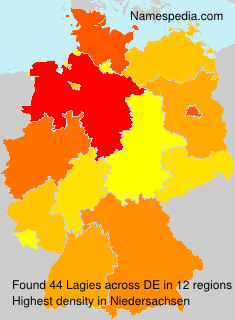 Surname Lagies in Germany