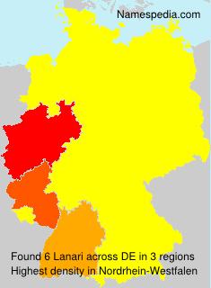 Surname Lanari in Germany