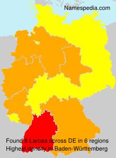 Familiennamen Larosa - Germany
