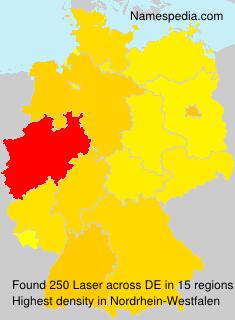 Surname Laser in Germany
