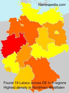 Familiennamen Latacz - Germany