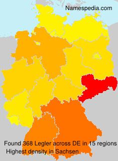 Familiennamen Legler - Germany