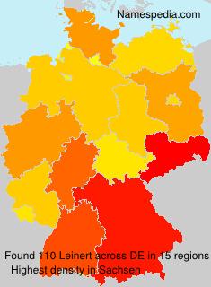Familiennamen Leinert - Germany