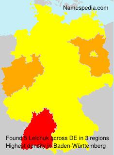 Surname Lelchuk in Germany
