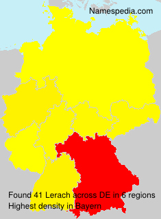 Familiennamen Lerach - Germany