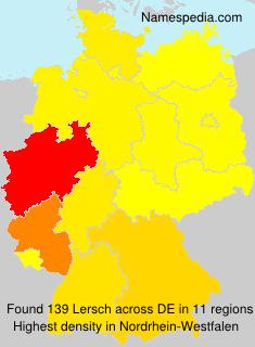 Familiennamen Lersch - Germany