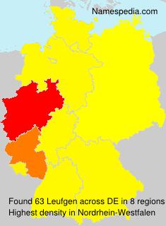 Surname Leufgen in Germany